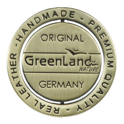 Greenland Nature Black Nappa Ringbuch Mappe DIN A4 3020 Schwarz Businessmappe