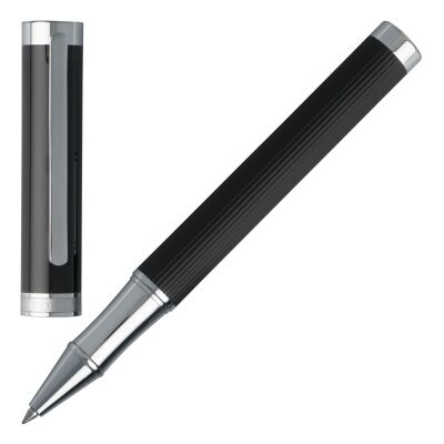 Tintenroller Rollerball Pen Hugo Boss Column HSV6515 Black Stripes